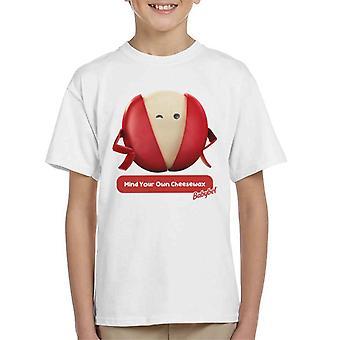 Baby Bel Mind Din egen Cheesewax Kid's T-Shirt