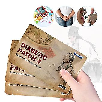 6pcs Diabetic Patch Lower Blood Sugar Naturally, Herbal Cure Reduce High Blood Sugar Level Balance