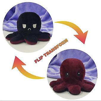 Reversible blekksprut myke leker fylte dyr