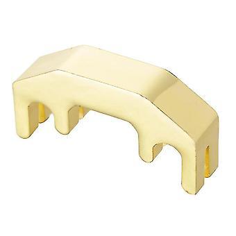 4爪 メタル ヴァイオリン マフラー アコースティック ミュートサイレンサー ゴールデン