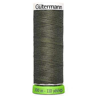 Gutermann 100% Återvunnen polyestersy-all tråd 100m Hand och maskin - 676