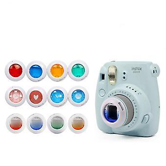 Conjunto de filtro de close-up de cor compatível com Fujifilm Instax Mini7s/8/8+/9/kt