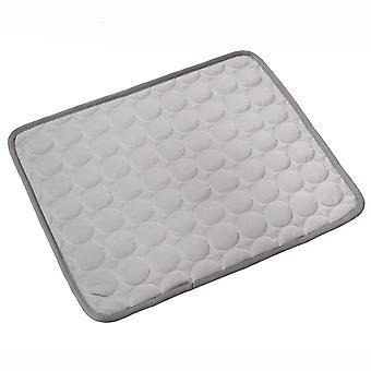 Chladiaca podložka pre domáce zvieratá sa ľahko čistí a vysušuje, je vhodná pre mačky a psy (šedá)