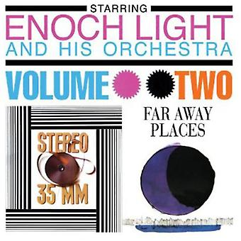 Enoch Light Orchestra - Light, Enoch Orchestra: Vol. 2-Stereo 35 Mm & Far Away Places [CD] USA import