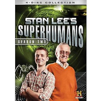 Stan Lee's Superhumans: sesong 2 [DVD] USA import