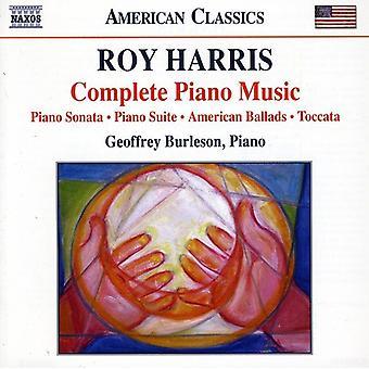 R. Harris - Roy Harris: Complete Piano Music [CD] USA import