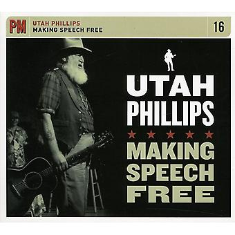 Utah Phillips - Making Speech Free [CD] USA import