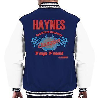 Haynes Brand Sparkford Raceway Top Fuel Men's Varsity Jacket