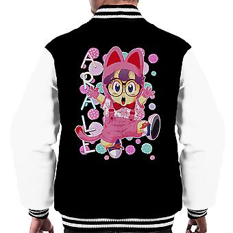 Arale Norimaki Cat Maglia Dr Slump Men's Varsity Jacket