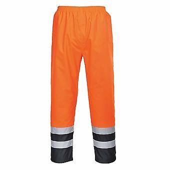 sUw - Hi-Vis Duas Calças impermeáveis de roupa de trabalho