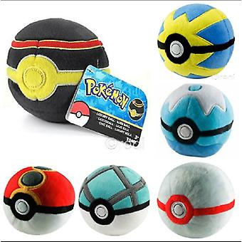 Pokemon Peluche Poké Ball - 1 Fornito