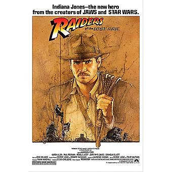 Indiana Jones and the Raiders of the Lost Ark Poster Poster Print