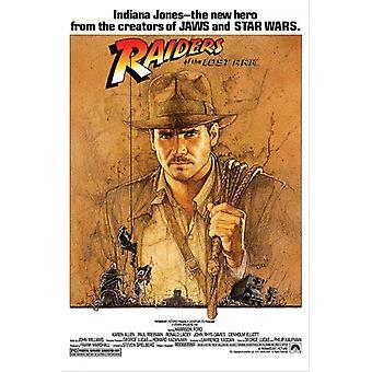 Indiana Jones und der Jäger des verlorenen Schatzes Plakat Poster drucken
