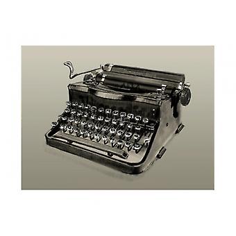 Vintage Schreibmaschine Remington Rand Poster Print von Clifford Faust (8 X 11)