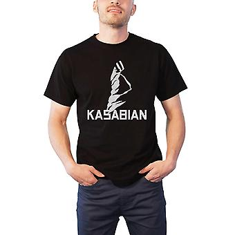 Kasabian T Shirt band logo Ultra Face Tour 2004 new Official Mens Black