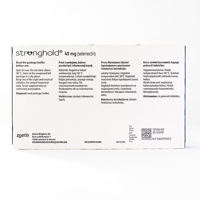 Stronghold for Cats Blue 3 Pack
