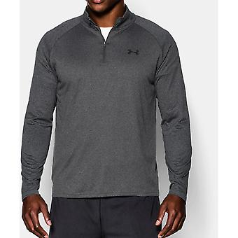 Under Armour Mens Tech Quarter Zip Wicking Loose Fit Sweatshirt Top