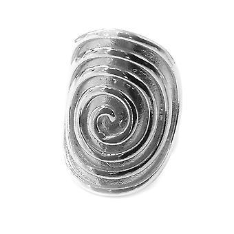 Græske Spira evigheden mønster Ring i Rhodium forgyldt Sterling sølv