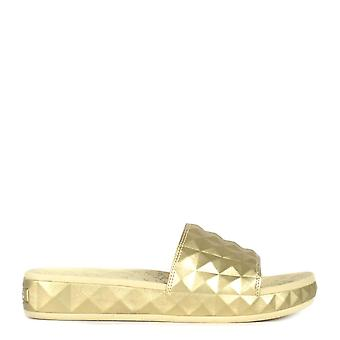 Ash SPLASH Studded Sandals Gold