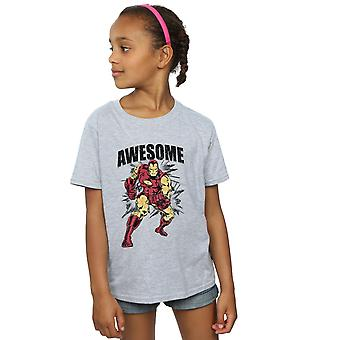 Marvel meisjes geweldig Iron Man T-Shirt