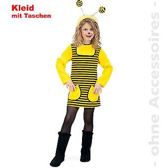 Bienchen Kostüm Biene Kinder Bienenkostüm Hummel Brummer Kinderkostüm