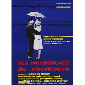 The Umbrellas of Cherbourg Movie Poster (11 x 17)