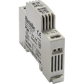 Comatec PSM1/15.24 Rail mounted PSU (DIN) 24 V DC 0.625 A 15 W