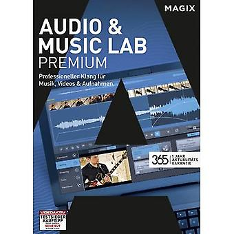 Magix Audio & Music Lab Premium Full version, 1 license Windows Music