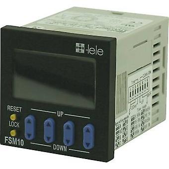 tele FSM10 TDR Multifunction 230 V AC 1 pc (s) Intervalo de tempo: 0.001 s - 999.9 h 1 change-over