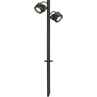 SLV 231535 SITRA 360 Freistehende Leuchte Energiesparlampe GX53 9 W Anthrazit