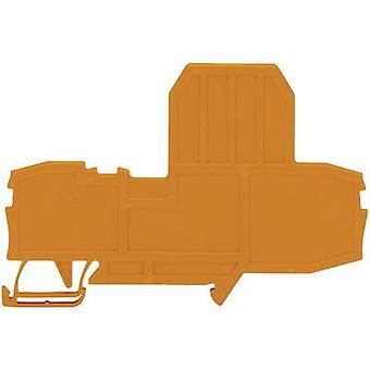 WAGO 2002-992 Endplatte oransje
