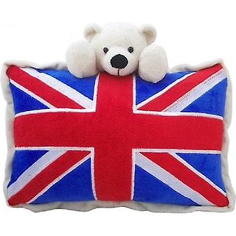 Union Jack Wear Union Jack Bear Cushion