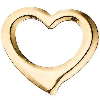 Barn trailer swing hjertet 585 gull gul gull hjerte anheng for barn