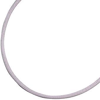 Seidencollier 925/-S flieder fliederfarbene Seidenkordel Kette für Anhänger