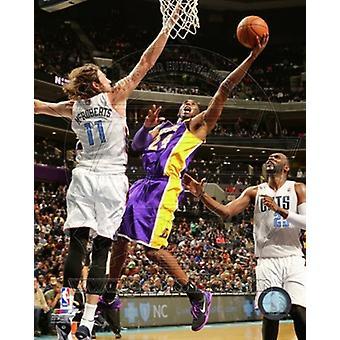 Kobe Bryant 2013-14 ação esportes foto (8 x 10)