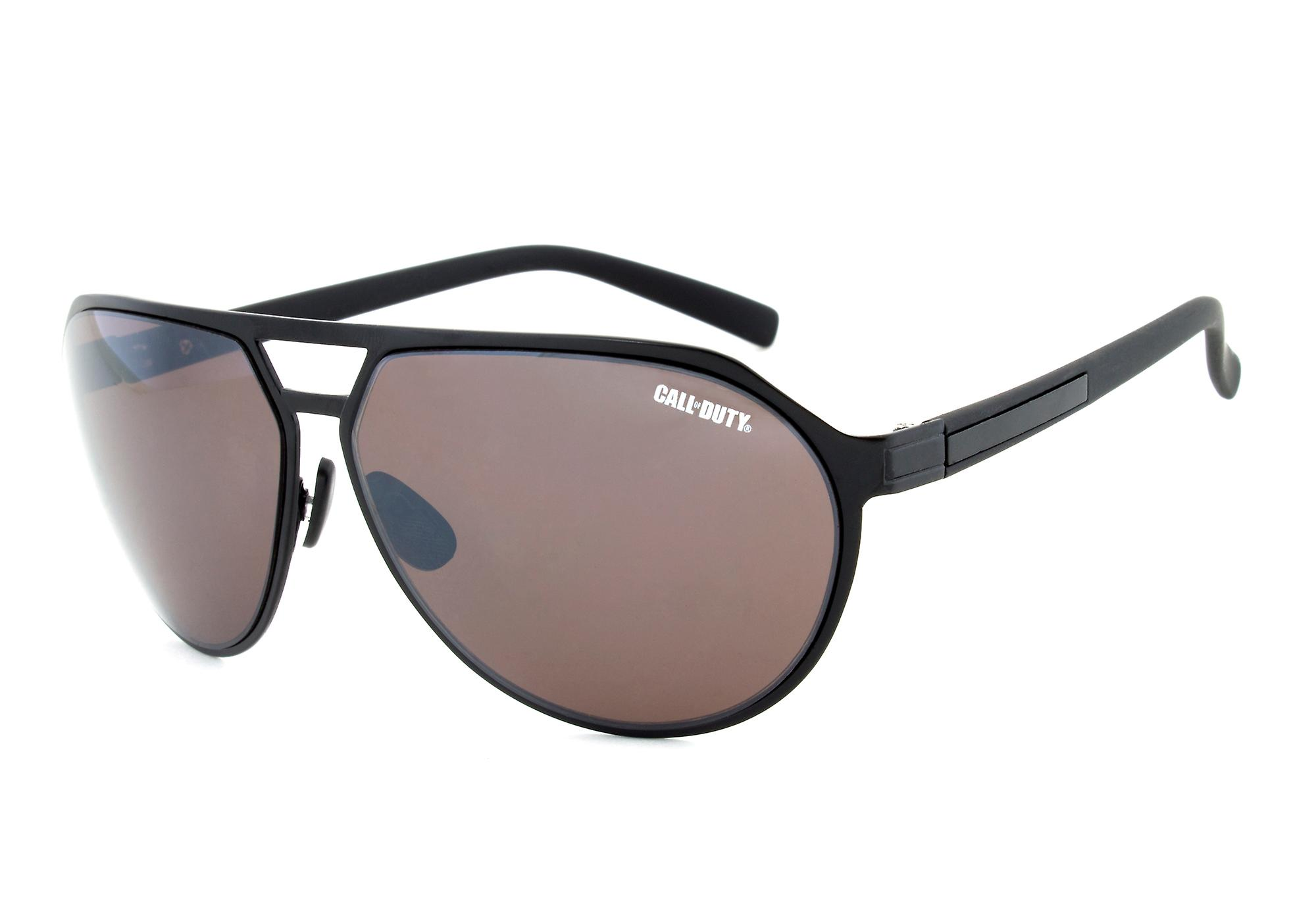 Call of Duty Black Aviator Sunglasses with Copper Contrast Sun Lens