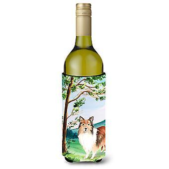 تحت شجرة شيلتي زجاجة النبيذ المشروبات عازل نعالها