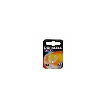 Duracell D364 Schaltfläche Zelle Batterie Silber
