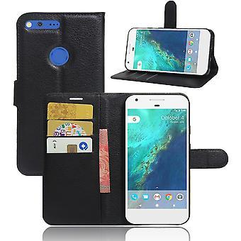 Lychee Brieftasche Fall Google Pixel XL