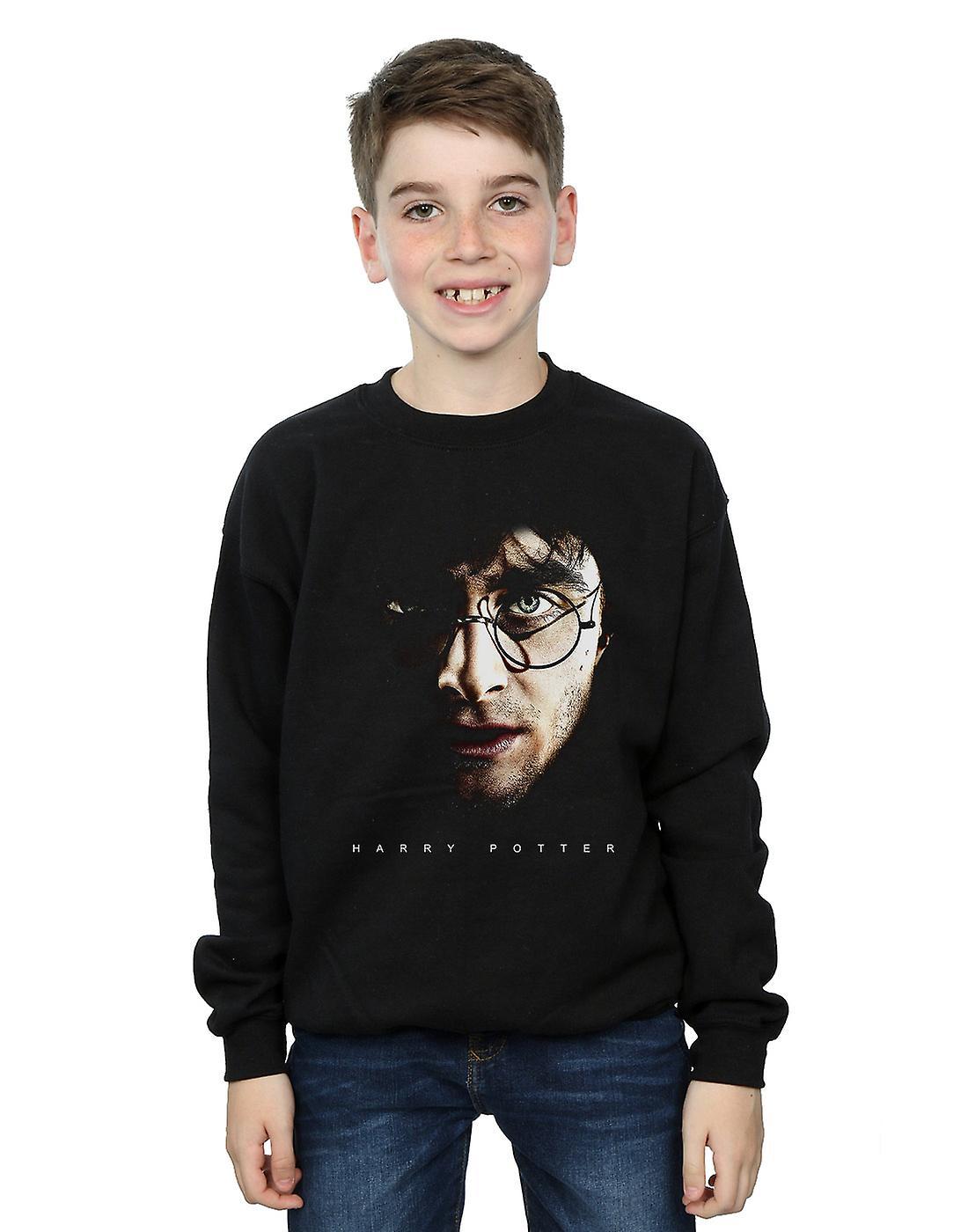 Harry Potter Boys Dark Portrait Sweatshirt