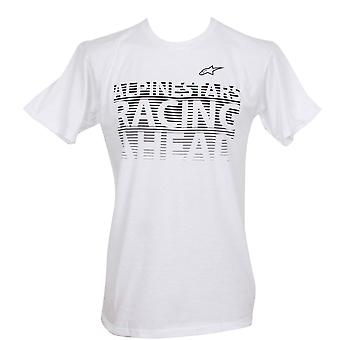 Alpinestars Men's T-Shirt ~ Racing Grade white