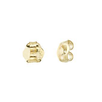 LXR 14k זהב צהוב החלפת עגילים גב (1 זוג)