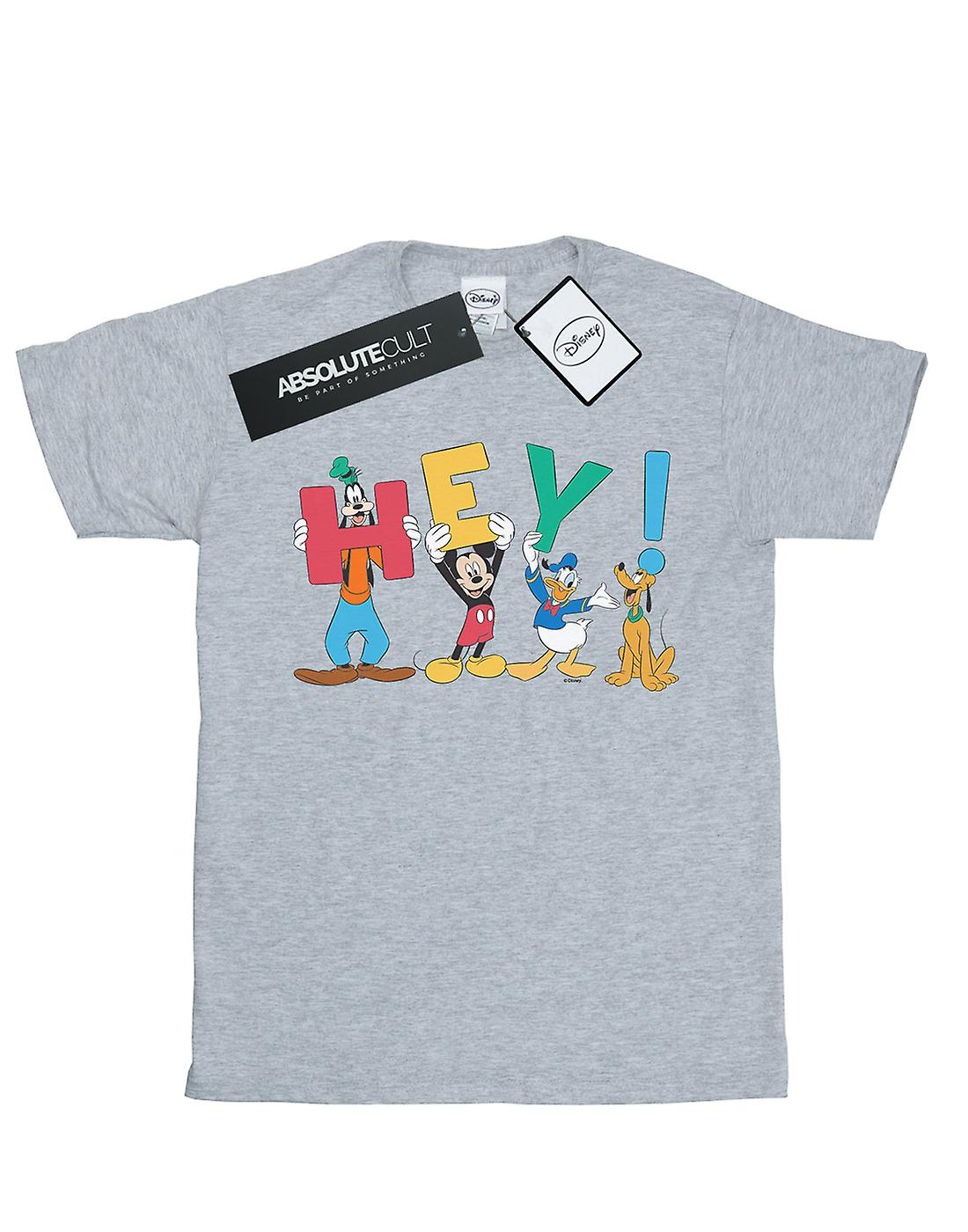 Disney Girls Mickey Mouse Friends Hey T-Shirt