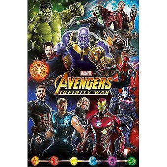 Avengers Sonsuzluk Savaşı Afişi