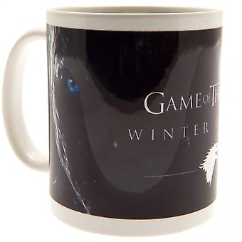 Game Of Thrones Official Winter Is Here Mug