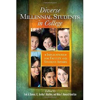 Divers étudiants millénaires au collège: Implications pour la faculté et le service des affaires estudiantines