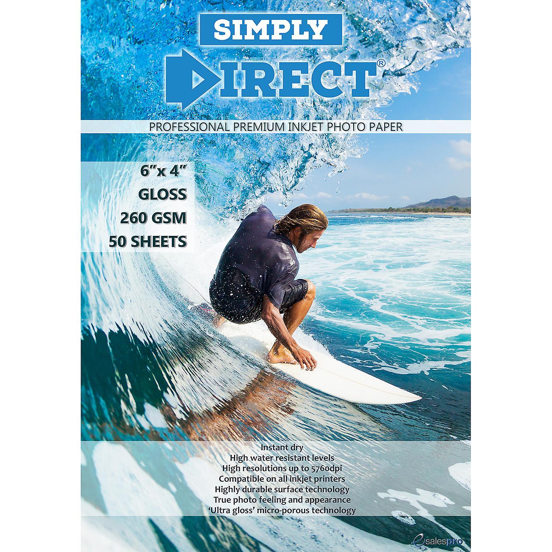 50 x Simply Direct Pre-cut 6