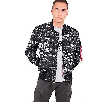 Alpha industries men's bomber jacket MA-1 GC revolution