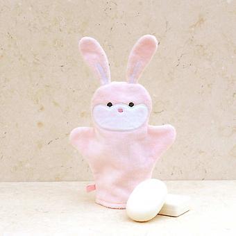 ボニーのウサギ風呂ミット