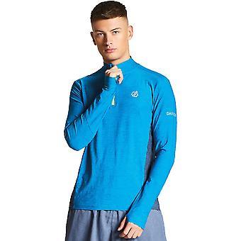 2 b Herren Reacticate Hälfte Dare Feuchtigkeitstransport schnell trocken Jerseyshirt zippen